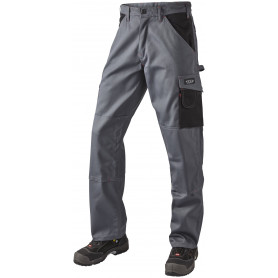 Bundhose, 10206 - Grau/Schwarz