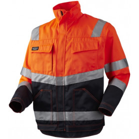 Blousonjacke EN471 kl. 2, Orange/Marine - 11105