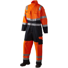 Arbeitsanzug, EN 20471 klasse 3, 11108 - Orange/Marine