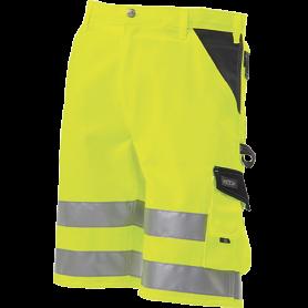 Shorts, EN 20471 klasse 1, 11109-1 - Gelb/Marine