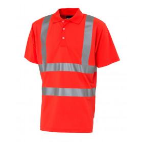 Poloshirt, 11113 - Rot