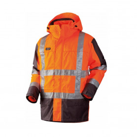GHBV Parka, 20471, 4 in 1, 11132 - Orange/Grau