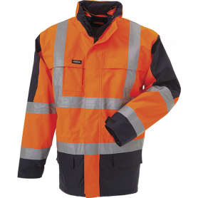 Parka EN 20471, 11132 - Orange/Marine