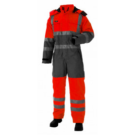 Thermoarbeitsanzug, High Performance, 11134 - Rot/Grau