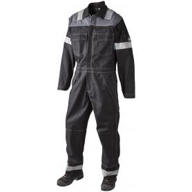 Arbeitsanzug, 12004 - Schwarz/Grau