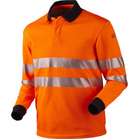 Poloshirt, 12116 - Orange