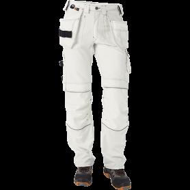 Bundhose mit Hängetaschen, 1501 - Weiß
