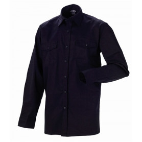JAK - Arbeits Hemd, 5122 - Schwarz
