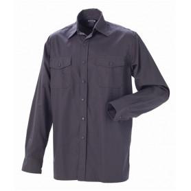 JAK - Arbeits Hemd, 5122 - Grau