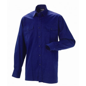 JAK - Arbeits Hemd, 5122 - Marine