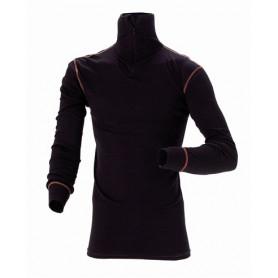 Coolmax active funktionsunterhemd, mit Rollkragen, 6002 - Schwarz