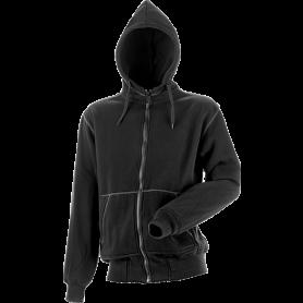 Kapuzensweatshirt, 8520 - Schwarz