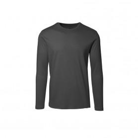 T-shirt mit langen Ärmeln, 0518 - Grau