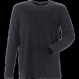 T-shirt mit langen Ärmeln, 8522 - Schwarz