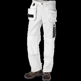 Bundhose mit Hängetaschen, 9204 - Weiß/Grau