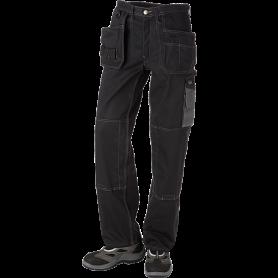 Bundhose mit Hängetaschen, 9204 - Schwarz/Grau