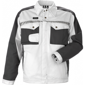 Blousonjacke, 9205 - Weiß/Grau