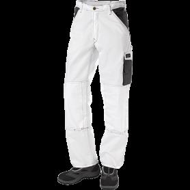 Bundhose, 9206 - Weiß/Grau