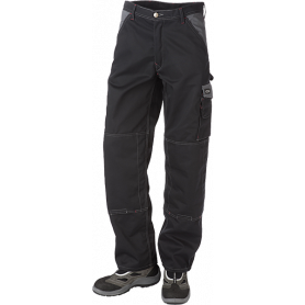 Bundhose, 9206 - Schwarz/Grau