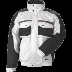 Jacke, 9231 - Weiß/Grau